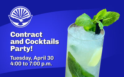 Join us for the UFF-UCF Contract and Cocktails Party!